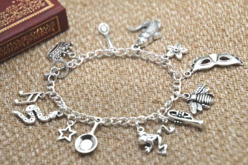 Princesse et la grenouille Inspired Bracelet Couronne Cuillère Alligator Fleur mardi gras