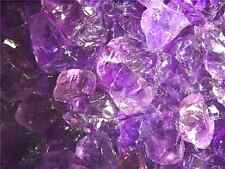 Amethyst natural mine rough Bolivia  1 to 1 1/2 inch 1/2 pound lot 8 to 15 piece