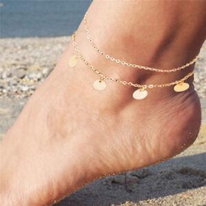Sandalo-a-piedi-nudi-semplice-da-spiaggia-per-piede-caviglia-Catena-Bracciale-donna-gioielli-BO