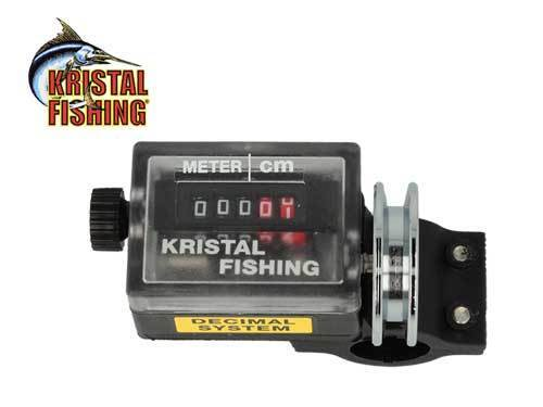 KRISTAL FISHING CMA COMPTEUR COUNTER POUR CANNE À PÊCHE OU DOWNRIGGER