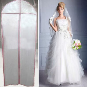 bridal wedding dress gown garment party ball storage bag cover clothes