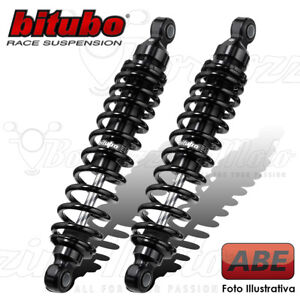 BITUBE SET REAR SHOCK ABSORBERS WMB02V2 DARK EDITION MOTO GUZZI V75 1996 8033914204587