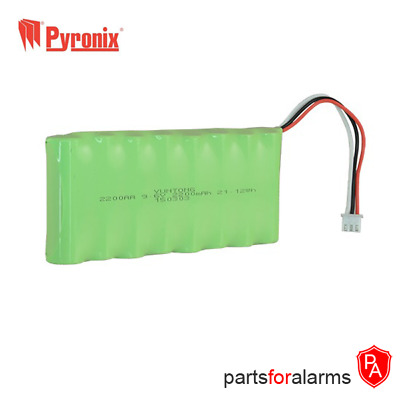 9.6V 2200mAh Back-up Battery for Pyronix Enforcer Control Panel BATT-ENF8XAA