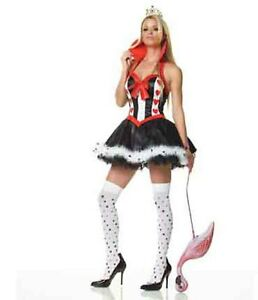 Leg-Avenue-QUEEN-OF-HEARTS-Sexy-Fairy-Tail-Fancy-Dress-Costume-Plus-Size-83078