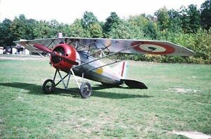 Details about WWI Morane Saulnier 103 inch wing 1/3 Scale RC Model AIrplane  Printed Plans