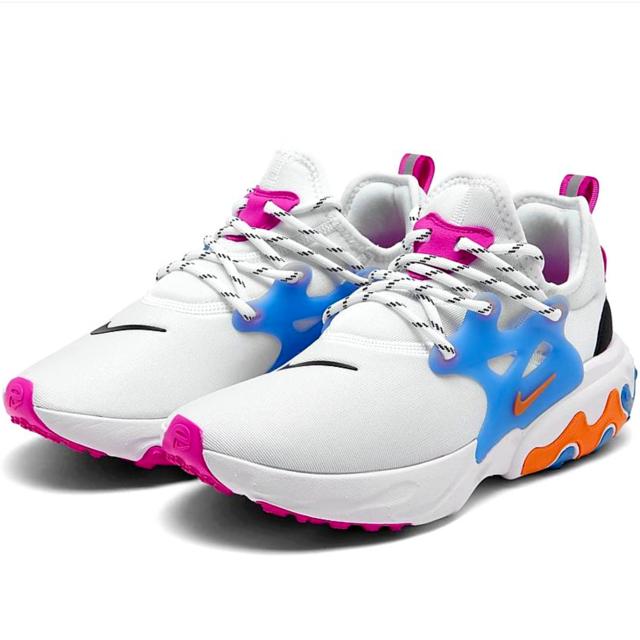 Size 9 - Nike React Presto White Multi for sale online   eBay