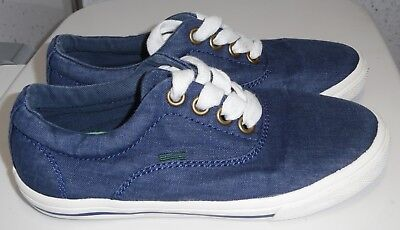 YOUNG BOYS NEXT CANVAS TRAINERS UK 11