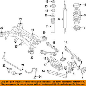 bmw oem 08 13 135i rear suspension hub 33416771082 ebay rh ebay com  bmw 1 series engine bay diagram