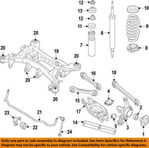 image is loading bmw-oem-08-13-128i-rear-suspension-coil-