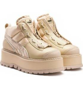 purchase cheap 84ec8 1e7ee Details about $390 FENTY PUMA by Rihanna Zipped Platform Sneaker Boots Size  11