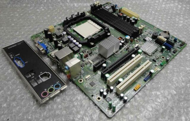 Dell 0F896N F896N Inspiron 546 Tower Socket AM2 Motherboard with I/O Plate