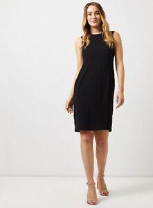 Ex-DOROTHY-PERKINS-Black-Round-Neck-Dress-UK-6-US-2-EUR-34-TS61-7