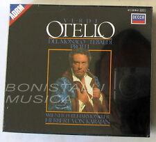 Verdi, OTELLO - DEL MONACO, TEBALDI, PROTTI - KARAJAN - 2CD Sigillato