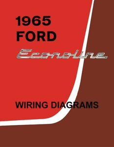 1965 Ford Econoline Truck Electrical Wiring Diagrams Schematic Manual | eBay | 1965 Econoline Wiring Diagram |  | eBay