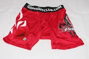 Georges St. Pierre GSP RUSH Autographed UFC Shorts