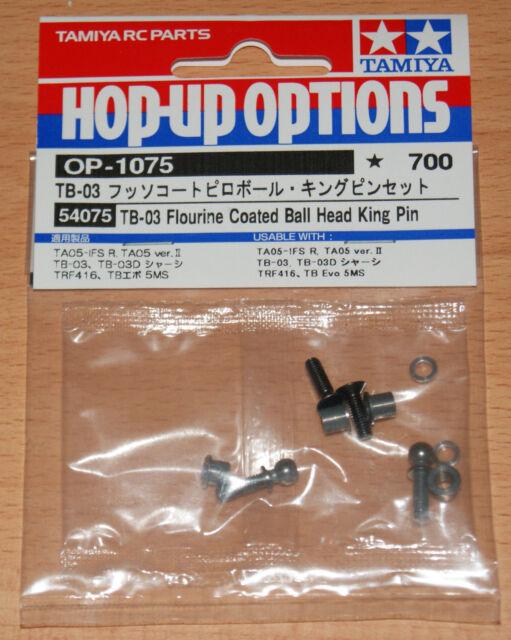 Tamiya TB-03 Flourine Coated Ball Head King Pin TA05 TA07 FF-04 TRF419 RC #54075