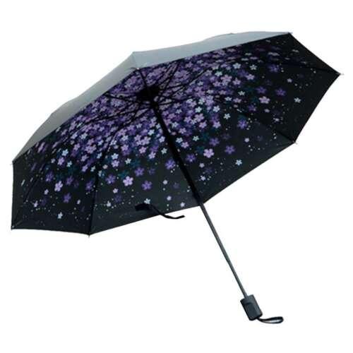 Folding Anti UV Rain Sun Lightweight Compact Umbrella Windproof
