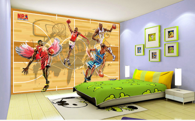 3D Flammen-Basketball-Team 7 Tapete Wandgemälde Tapete Tapeten Bild Familie DE    Lebendige Form    Deutschland Outlet    Günstige Bestellung