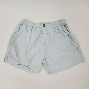 """Chubbies Size M L Outdoor Collection Shorts Green Corduroy 5/"""" Inseam"""