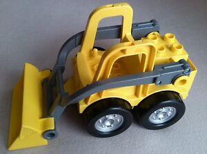 Lego duplo radlader bagger baustelle gelb baumaschine frontlader m