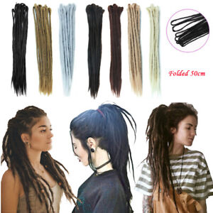 f3b667e4beef3 Long Synthetic Dreadlocks Double Ended Dread Locs Hair Extensions 20 ...
