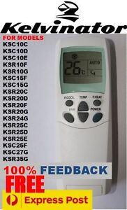 kelvinator air con conditioner remote control 6711a2001213w ebay rh ebay com au