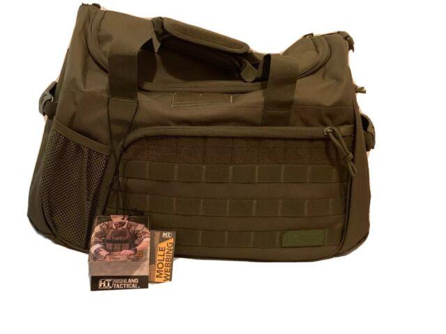 Water Bottle Pocket HIghland Tactical Squad 1.0 MOLLE Webbing Beige Duffle