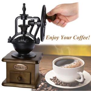 Vintage Hand Coffee Grinder Manual Coffee Bean Grinding ...
