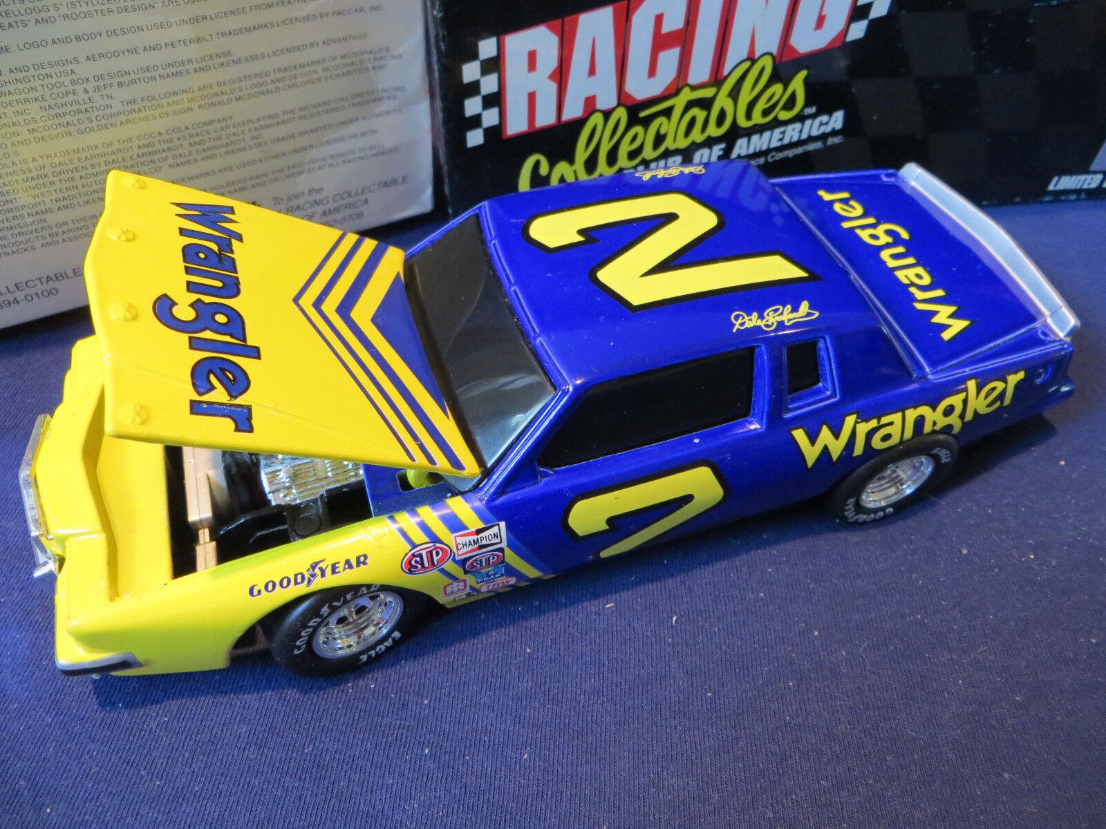 Dale Earnhardt 1981 Pontiac Grand Prix Wrangler Wrangler Wrangler 1 24 RCCA BWB Club ORIGINAL 1995 d4331f