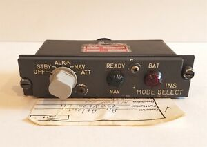 Boeing 747 Aircraft Carousel Mode Selector Unit P/N 7883470-011