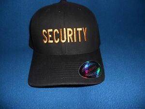 6472deed20ba1 Image is loading SECURITY-Hat-Police-Security-Officer-Security-Ball-Cap-