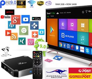 Smart Tv Box X96 MINI 4K Quad Core Android 9.0 HDMI WIFI 2GB+16GB