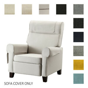 Details About Fits Ikea Muren Armchair Cover Replace Slipcover Custom Made Single Chair Wcv