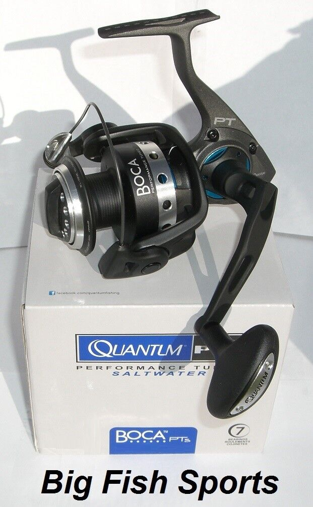 QUANTUM BOCA PTs Spinning Reel    BSP50PTSE FREE USA SHIPPING  NEW  5.3 1 Ratio 218354