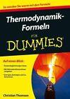 Thermodynamik-formeln fur Dummies by Christian Thomsen (Paperback, 2014)