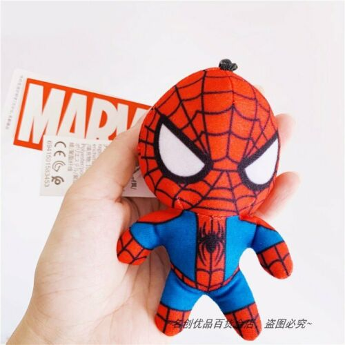 Miniso X Marvel Authentic Spider Man Captain America Iron Man Key Chain Plush