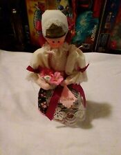 GYPSY DOLL Ethnic Baltic States Girl Doll PRAGUE Intricate Clothes REAL HAIR?