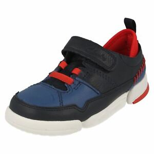 'tri Clarks Casual Scotty' Chicos Combi Shoes Navy azul At1xxq