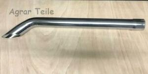 1070mm für John Deere 6 Serie Auspuff Chrom 65mm