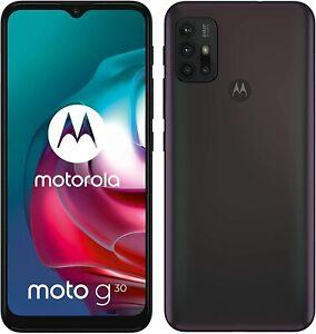 "Cellulare Smartphone Lenovo Motorola MOTO G30 128GB+6GB RAM 6,5"" DUAL Dark Pearl"