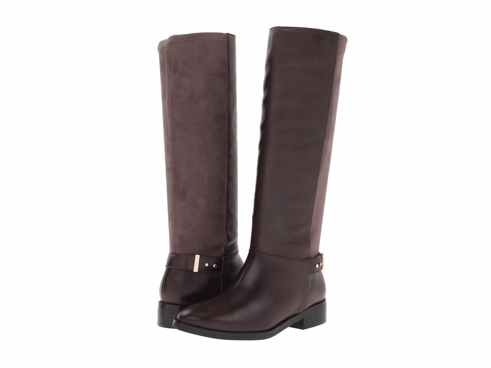 compra nuovo economico NWOB 378 COLE HAAN  ADLER  riding stivali,Marrone leather leather leather & suede, 7.5M, Chesnut  alta qualità