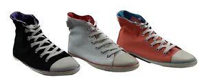 Dunlop Womens Volley Gelati Hi Top Casual Volleys Sneakers Shoes Boots Booties