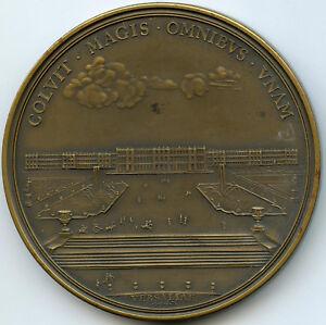 Louis-XIV-Medaille-1687-Chateau-de-Versailles