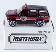 Matchbox Promo 2001 Pennsylvania Collector's Club '97 Chevy Tahoe NIB