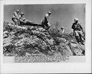Image Is Loading South Korean Corpsman Carry Wounded At Triangle Hill