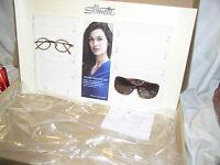 Silhouette Womens Eyewear Eyeglass Retail Store Advertising Display Stand Shelf