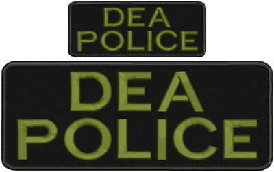 CA DEPT OF Corrections CORRECTIONS embroidery patch 4x10 and 2x5 hook od green