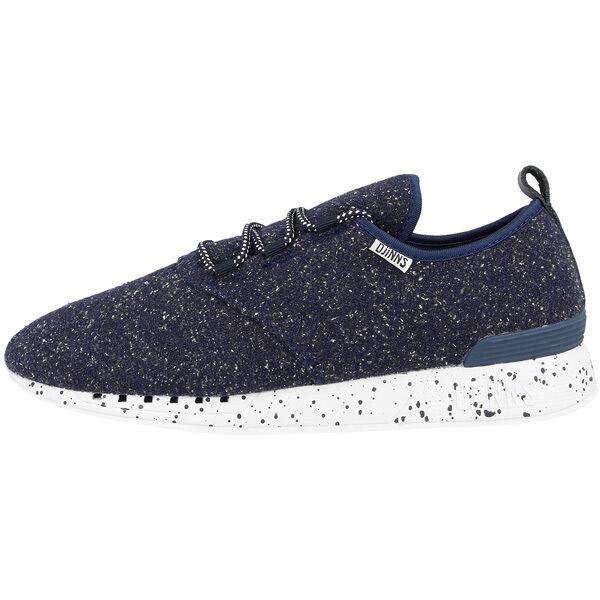 Djinn's Moc Lau Spots Schuhe Sport Freizeit Sneaker navy Djinns Forlow LowLau