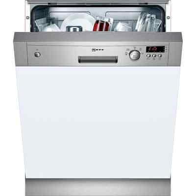 NEFF S41E50N1GB N30 A+ Semi Integrated Dishwasher Full Size 60cm 12 Place