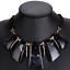 Fashion-Jewelry-Crystal-Choker-Chunky-Statement-Bib-Pendant-Women-Necklace-Chain miniature 32